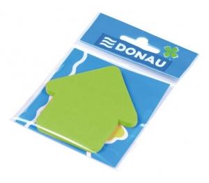 Öntapadó jegyzettömb, nyíl alakú, 50 lap, DONAU, zöld