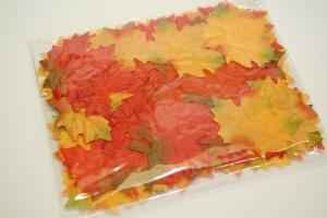 Őszi levelek selyem 6cm