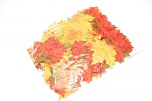 Őszi levelek selyem 7cm
