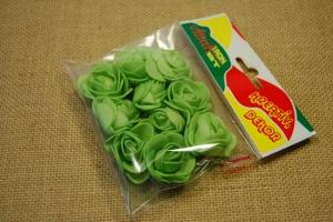 Mini rózsa 10db/cs zöld