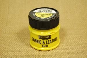 Textil és bőrfesték 50ml sárga