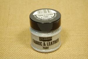 Textil és bőrfesték 50ml csill.ezüst