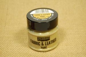 Textil és bőrfesték 50ml csill.arany
