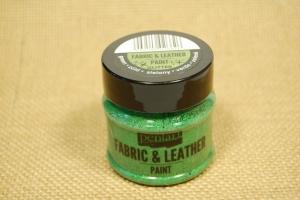 Textil és bőrfesték 50ml csill.zöld