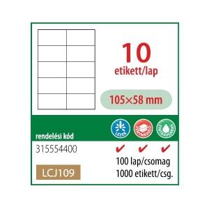 Etikett cimke OFFICE 21 105x58 univerzális LCJ109