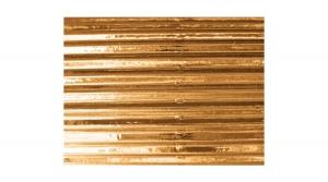PKPHK00898 Metál hullámkarton 50x70 cm, arany