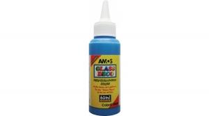 Amos üvegfóliafesték 60 ml, kék