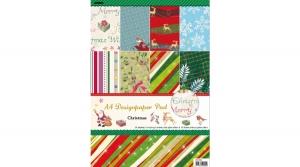 Karácsonyi Kartonblokk A/4-es, 160 grammos