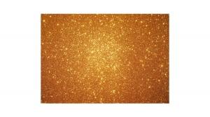 KDKMO00929 Csillámos dekorgumi lap 2 mm, A/4, arany