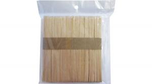 Spatula, lapos natúr fapálca 115x10 mm, 50db/csomag