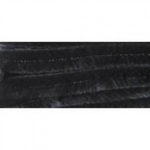 Zsenília vastag, 10 db/csomag, fekete