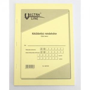 """"""" KIKÜLDETÉSI RENDELVÉNY ÁLLÓ 25X2 """" B18-73/V"""