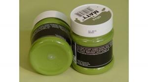 Matt akrilfesték oliva 230 ml