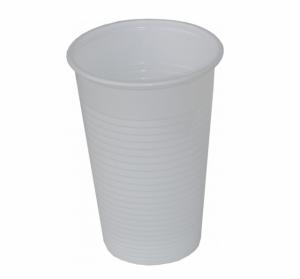 Eldobható pohár 5dl fehér 50db