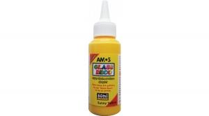 Amos üvegfóliafesték 60 ml, napsárga