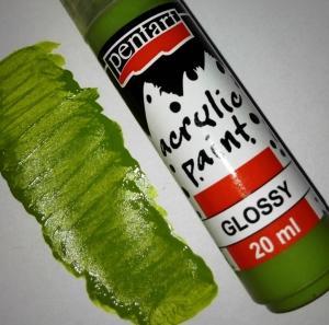 Fényes akrilfesték olivazöld 20ml