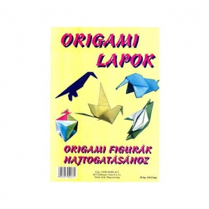 Origami lapok hajtogatáshoz, A/4 10x2 lap