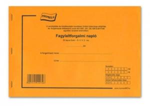 FAGYLALTFORGALMI NAPLÓ A/4 50 L. FÜZET