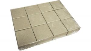 Natúr papírdoboz négyzet alakú