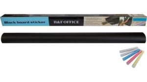 Home Decor táblairónnal vagy krétával írható öntapadó táblafólia, tapéta 45x200 cm, fekete