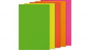 Öntapadó papír A/4 neon vegyes színekben