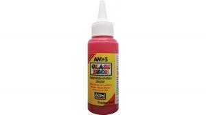Amos üvegfóliafesték 60 ml, piros