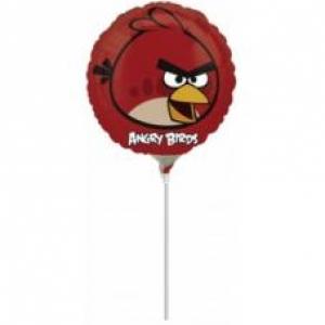 30cm-es Angry Birds Piros madár fólia