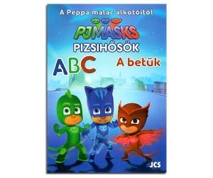 Pizsihősök: A betűk foglalkoztató könyv