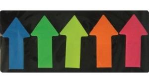 Office Art jelölőcímke 5 szín, nyíl formájú