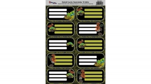 Belmil füzetcímke 10 db/ív Gecko