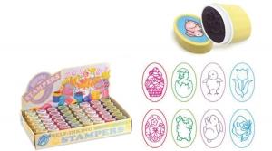 Önfestékező nyomda, tojás alakú, Húsvéti, vegyes mintával
