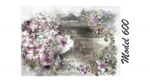 Rizspapír A4 virágok