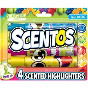 Scentos illatos szövegkiemelő alapszínek 4db-os