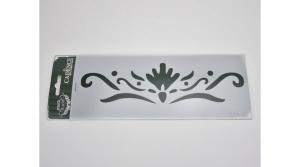 Stencil 10x25cm