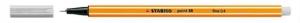 Stabilo Tűfilc, 0,4 mm, világos szürke