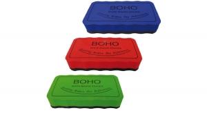 mágneses táblatörlő szivacs 10,5x5,5 cm, vegyes színekben