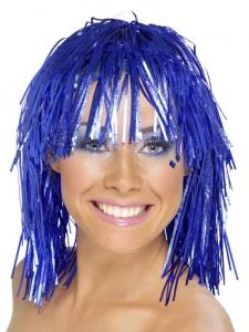 Szilveszteri paróka kék