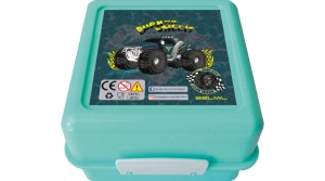 Belmil uzsonnás ételtároló doboz 1,4 literes, zöld, Mud Machine