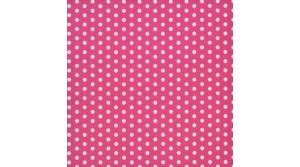 szalvéta 33x33 cm, 3 rétegű, 20 lapos, pöttyös, Bolas pink