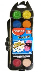 Vízfesték Maped 12-es+ajándék ecset